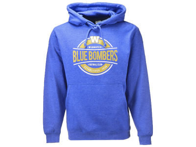 Winnipeg Blue Bombers CFL Men's Advantage Pullover Hoodie