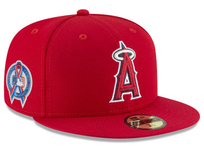 Los Angeles Angels New Era 2018 MLB 9-11 Memorial 59FIFTY Cap