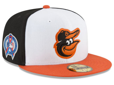 331764edcc8 Baltimore Orioles New Era 2018 MLB 9-11 Memorial 59FIFTY Cap