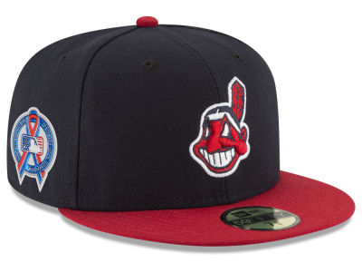Cleveland Indians New Era 2018 MLB 9-11 Memorial 59FIFTY Cap