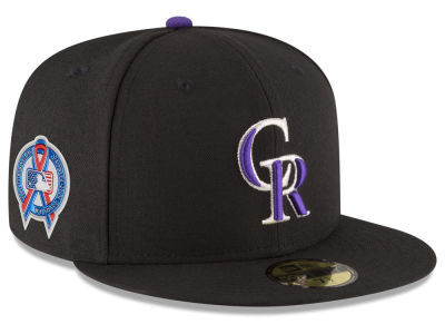 Colorado Rockies New Era 2018 MLB 9-11 Memorial 59FIFTY Cap