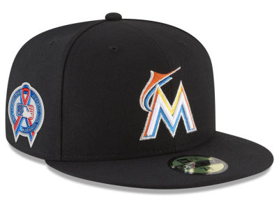 Miami Marlins New Era 2018 MLB 9-11 Memorial 59FIFTY Cap