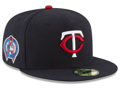 Minnesota Twins New Era 2018 MLB 9-11 Memorial 59FIFTY Cap