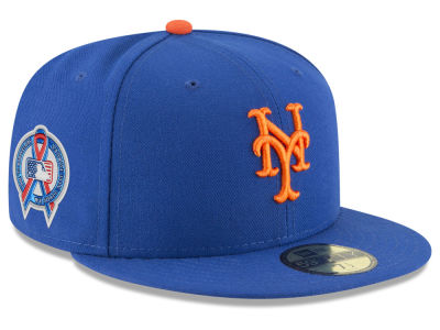 New York Mets New Era 2018 MLB 9-11 Memorial 59FIFTY Cap