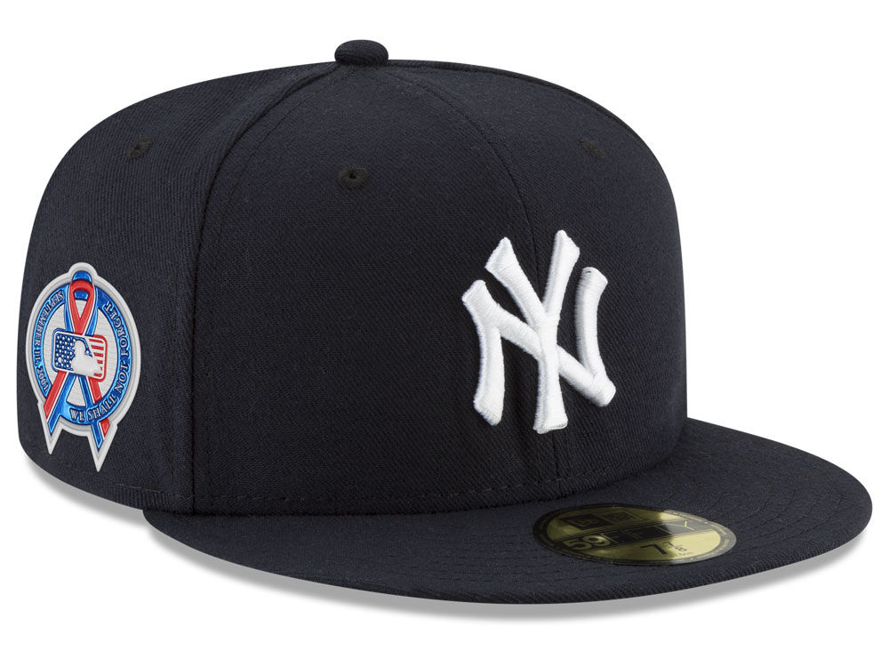 New York Yankees New Era 2018 MLB 9-11 Memorial 59FIFTY Cap  6d28b8151a19