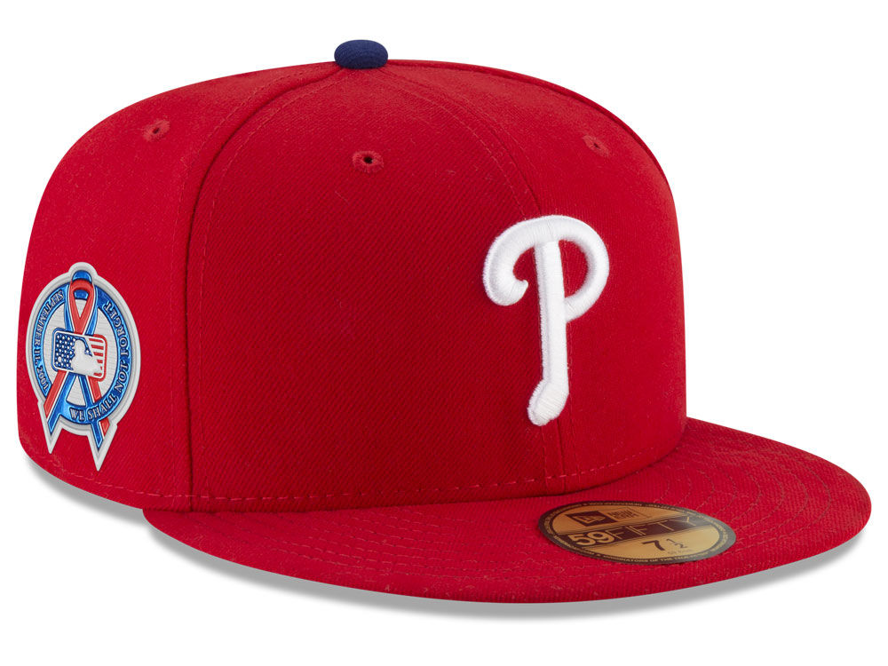 Philadelphia Phillies New Era 2018 MLB 9-11 Memorial 59FIFTY Cap ... b38a716a83b6