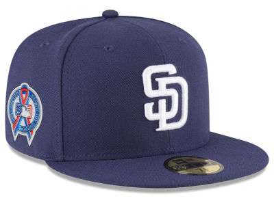 San Diego Padres New Era 2018 MLB 9-11 Memorial 59FIFTY Cap