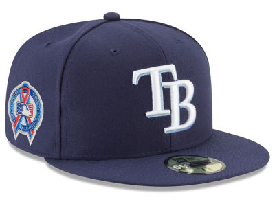 Tampa Bay Rays New Era 2018 MLB 9-11 Memorial 59FIFTY Cap