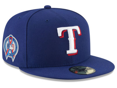 Texas Rangers New Era 2018 MLB 9-11 Memorial 59FIFTY Cap