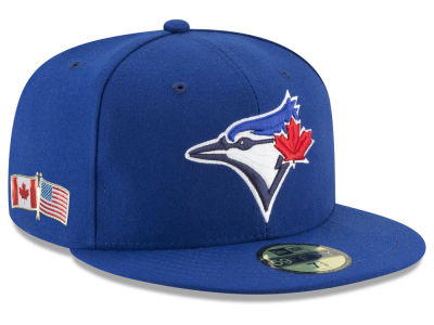 b695e14a1ec Toronto Blue Jays New Era 2018 MLB 9-11 Memorial 59FIFTY Cap