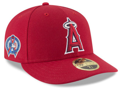 Los Angeles Angels New Era 2018 MLB 9-11 Memorial Low Profile 59FIFTY Cap