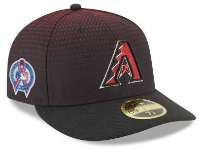 Arizona Diamondbacks New Era 2018 MLB 9-11 Memorial Low Profile 59FIFTY Cap