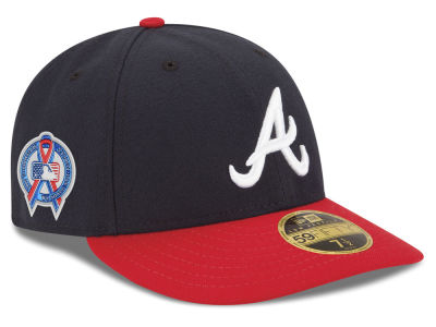 Atlanta Braves New Era 2018 MLB 9-11 Memorial Low Profile 59FIFTY Cap
