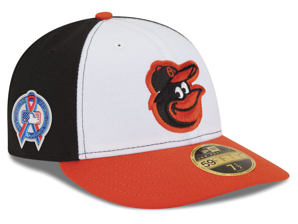 Baltimore Orioles New Era 2018 MLB 9-11 Memorial Low Profile 59FIFTY Cap  05863e94cc08