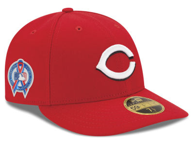 Cincinnati Reds New Era 2018 MLB 9-11 Memorial Low Profile 59FIFTY Cap