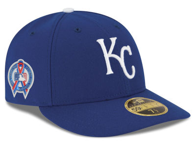 1e95a9369cb Kansas City Royals New Era 2018 MLB 9-11 Memorial Low Profile 59FIFTY Cap