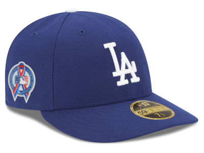 Los Angeles Dodgers New Era 2018 MLB 9-11 Memorial Low Profile 59FIFTY Cap