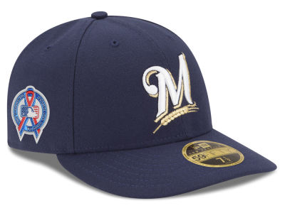 Milwaukee Brewers New Era 2018 MLB 9-11 Memorial Low Profile 59FIFTY Cap
