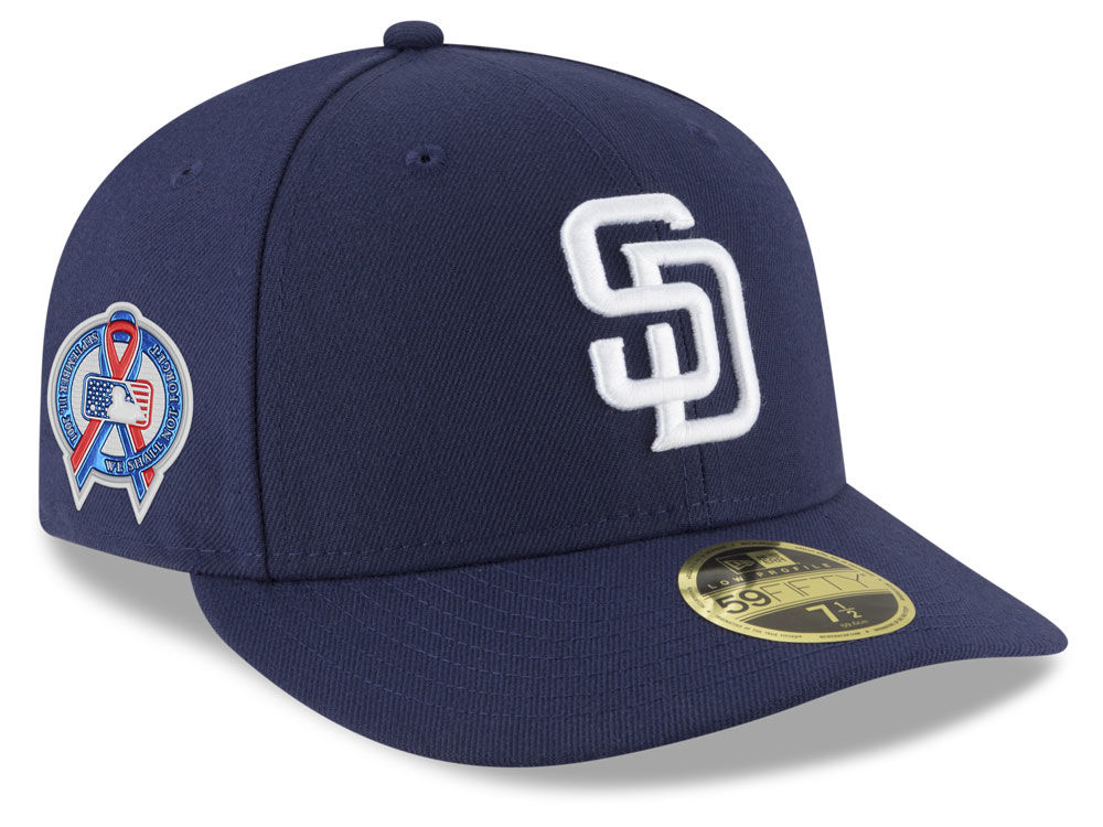 San Diego Padres New Era 2018 MLB 9-11 Memorial Low Profile 59FIFTY Cap  57422e71252f