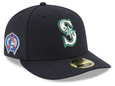 Seattle Mariners New Era 2018 MLB 9-11 Memorial Low Profile 59FIFTY Cap