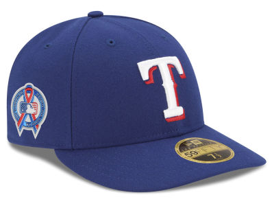 Texas Rangers New Era 2018 MLB 9-11 Memorial Low Profile 59FIFTY Cap