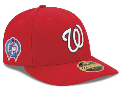Washington Nationals New Era 2018 MLB 9-11 Memorial Low Profile 59FIFTY Cap