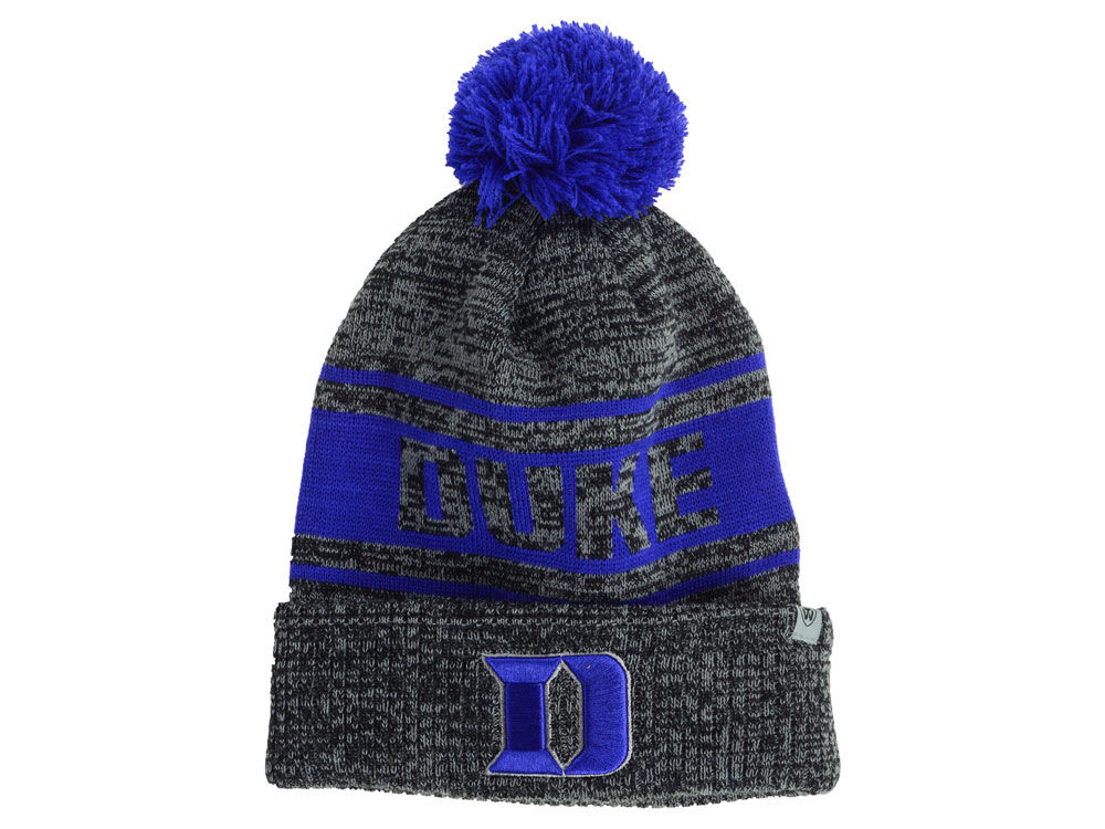 11ae700a281 Duke Blue Devils Top of the World NCAA Sockit Pom Knit