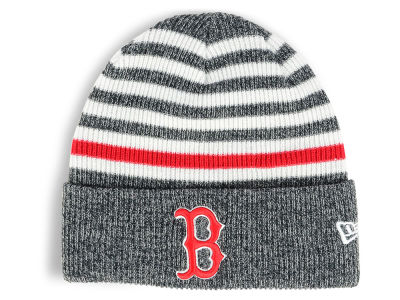 Boston Red Sox New Era MLB Striped Cuff Knit