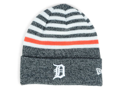 Detroit Tigers New Era MLB Striped Cuff Knit
