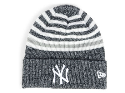 New York Yankees New Era MLB Striped Cuff Knit 06d65ed16bc