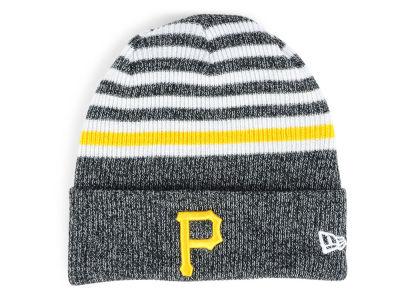Pittsburgh Pirates New Era MLB Striped Cuff Knit f77012cf0f7b