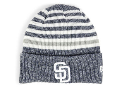 San Diego Padres New Era MLB Striped Cuff Knit