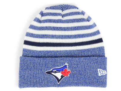 Toronto Blue Jays New Era MLB Striped Cuff Knit