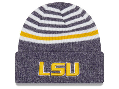 LSU Tigers New Era NCAA Striped Chill Knit f8fb7588c
