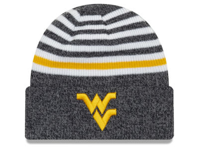 West Virginia Mountaineers New Era NCAA Striped Chill Knit