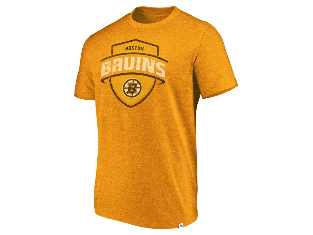 Boston Bruins Majestic NHL Men s Flex Classic Tri-blend T-shirt ... 921657e1e