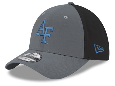 Air Force Falcons New Era NCAA Heather Black Neo 39THIRTY Cap