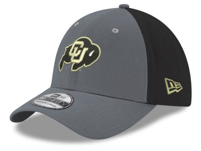 Colorado Buffaloes New Era NCAA Heather Black Neo 39THIRTY Cap