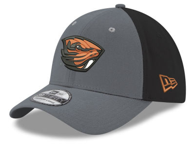 Oregon State Beavers New Era NCAA Heather Black Neo 39THIRTY Cap