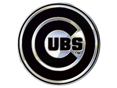 Chicago Cubs Stockdale Metal Auto Emblem
