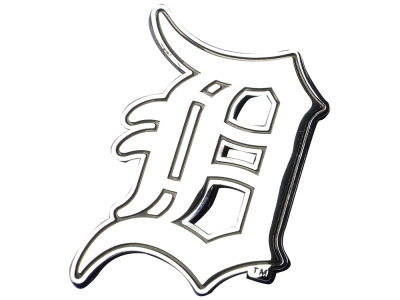 Detroit Tigers Stockdale Metal Auto Emblem