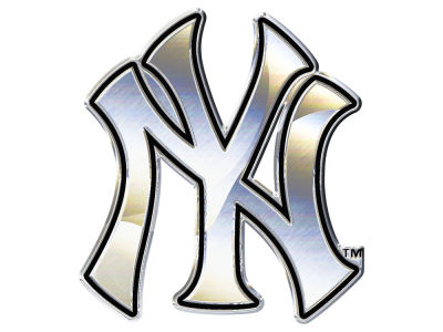 New York Yankees Stockdale Metal Auto Emblem