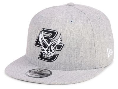 Boston College Eagles New Era NCAA Heather Gray 9FIFTY Snapback Cap c98d31d2e147