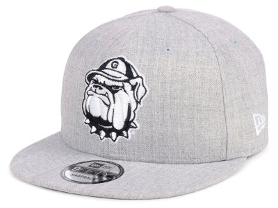Georgetown Hoyas New Era NCAA Heather Gray 9FIFTY Snapback Cap