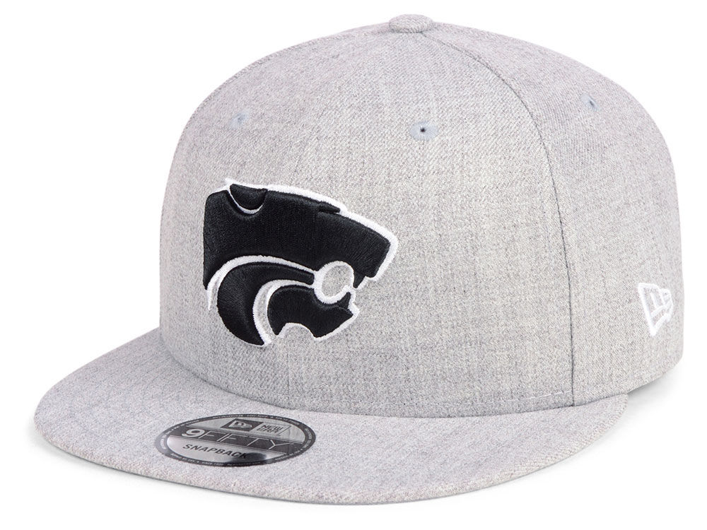 the latest cb58f b0b88 ... clean up cap in blue for men f8fa8 4a6e1  low cost kansas state  wildcats new era ncaa heather gray 9fifty snapback cap lids 54ad6 1235f
