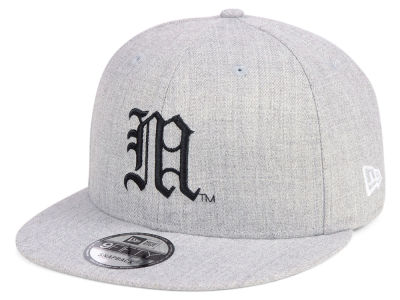 Maine Black Bears New Era NCAA Heather Gray 9FIFTY Snapback Cap