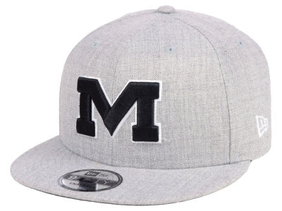 Ole Miss Rebels New Era NCAA Heather Gray 9FIFTY Snapback Cap