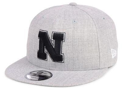 9ad1534801cc8 Nebraska Cornhuskers New Era NCAA Heather Gray 9FIFTY Snapback Cap