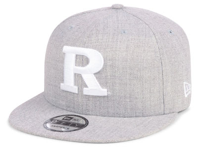 Rutgers Scarlet Knights New Era NCAA Heather Gray 9FIFTY Snapback Cap