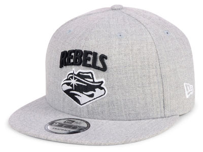 UNLV Runnin Rebels New Era NCAA Heather Gray 9FIFTY Snapback Cap